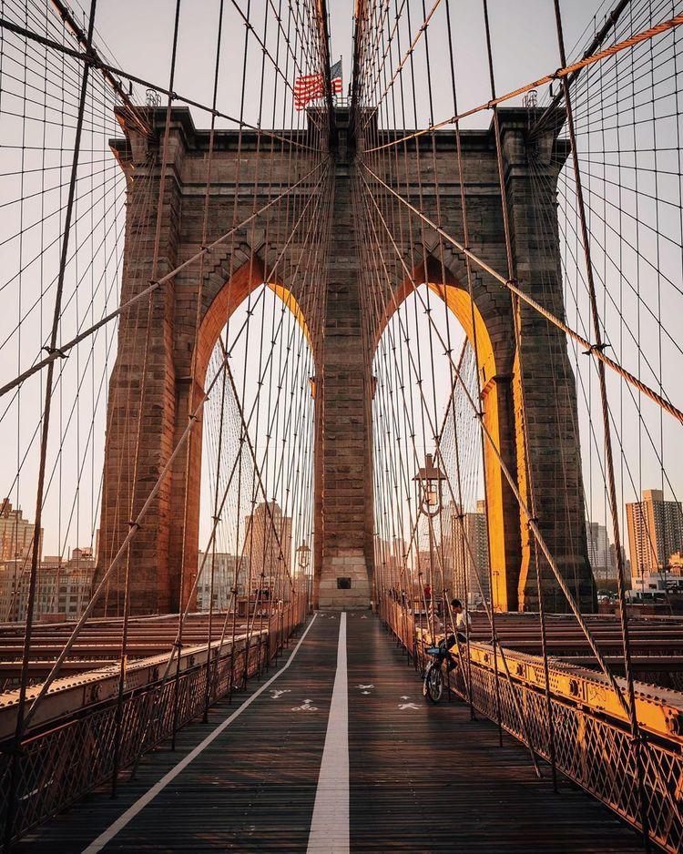 Monday September 23rd 2019 Good Morning Viewing Nyc Brooklyn Bridge New York City Travel Brooklyn