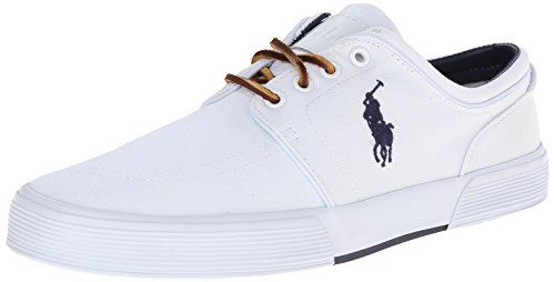 Men's Polo Ralph Lauren, Faxon Low sneaker Everyday comfort meets everyday  style Canvas fabric upper with logo detail for added appeal Rawhide lace up  front ...