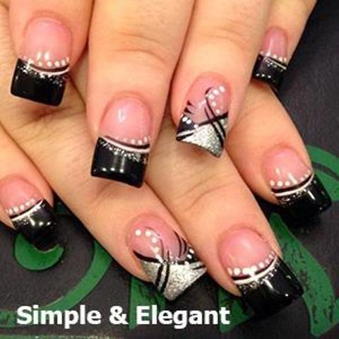 pinjacinta on nail art and design  elegant nail