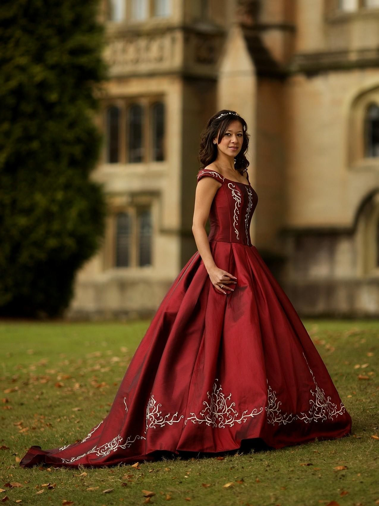 Red and Gold Wedding Dresses - Best Shapewear for Wedding Dress ...