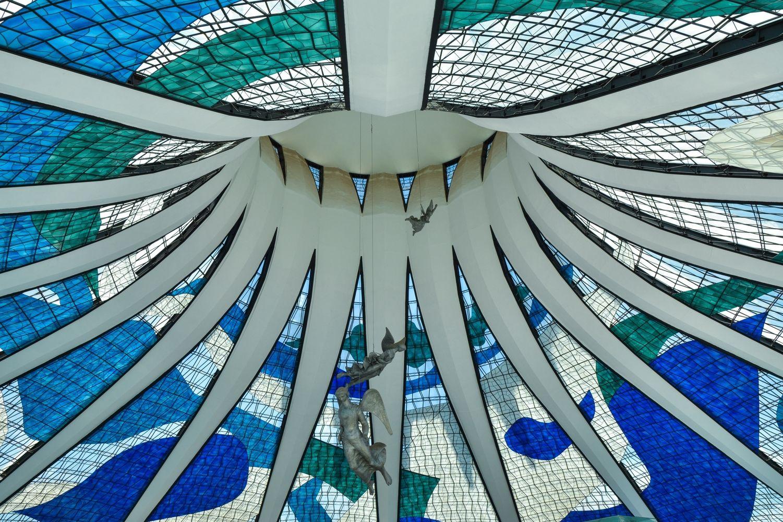 Catedral de Brasilia bajo el lente de Gonzalo Viramonte,© Gonzalo Viramonte