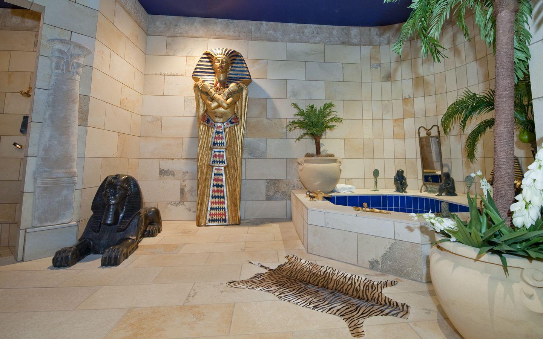 Egyptian style interior