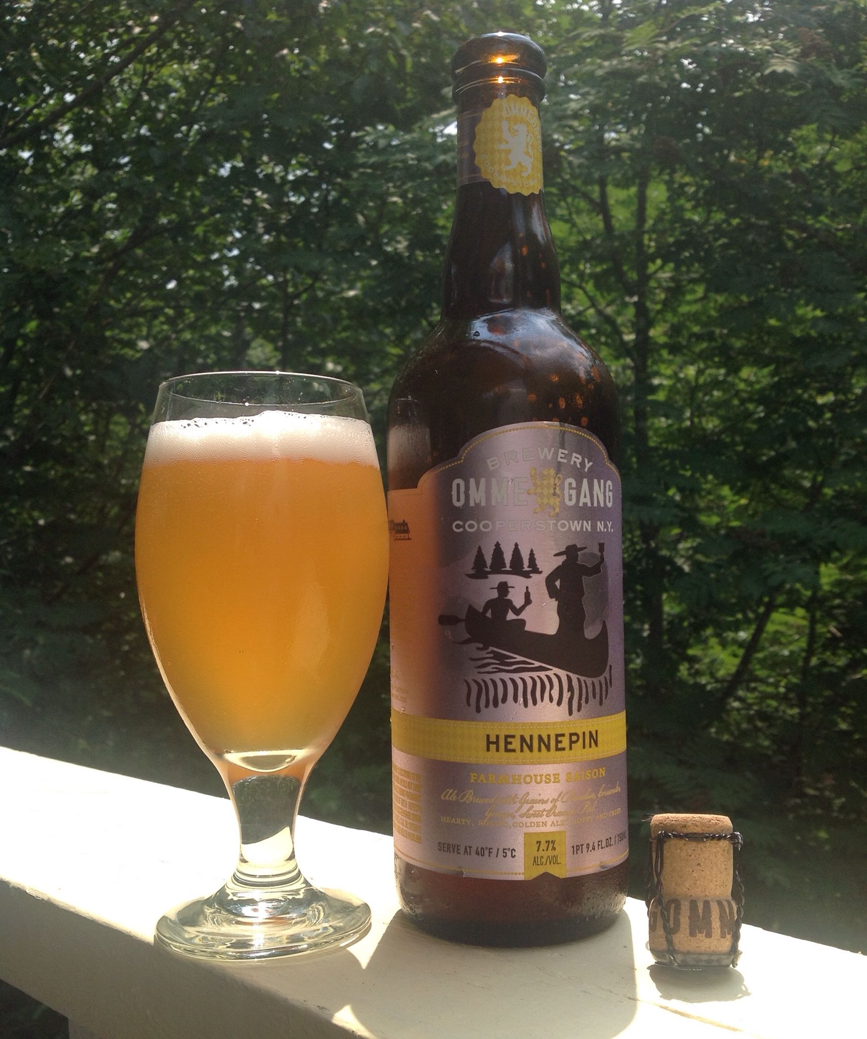 hennepin farmhouse saison a hearty rustic golden ale that is a bit rh pinterest es
