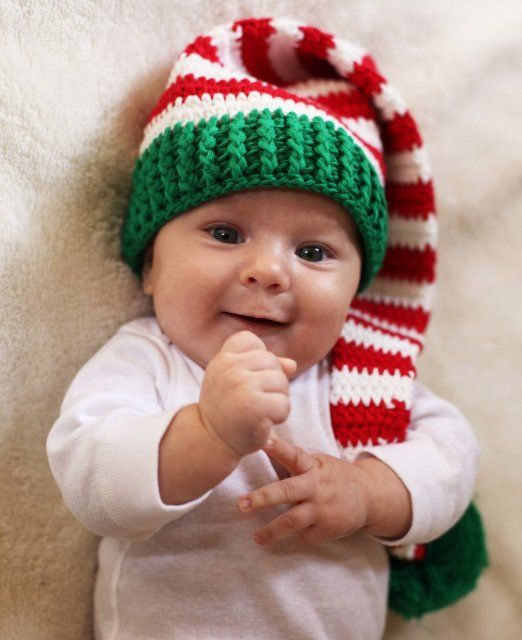 Cute for Christmas Baby | Baby | Pinterest
