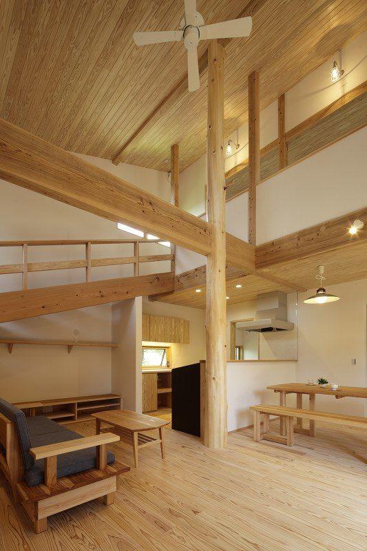 大きな吹抜けでつながる家 鹿児島で家を建てる住まいず写真集