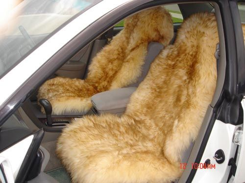 Fuzzy Seat Covers Van Life Dream Cars Seat Covers