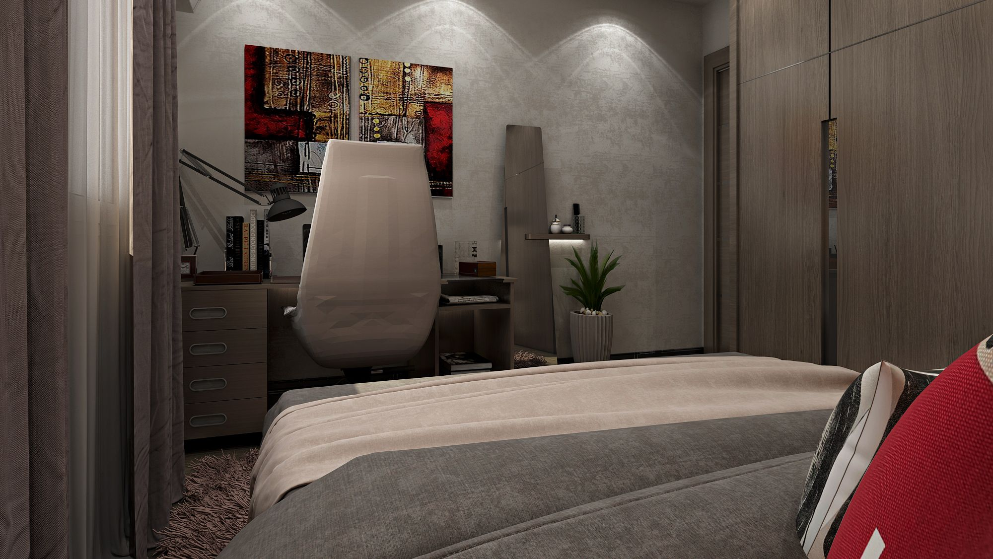 Modern Boy Bedroom Apartment Egypt Modern Boy