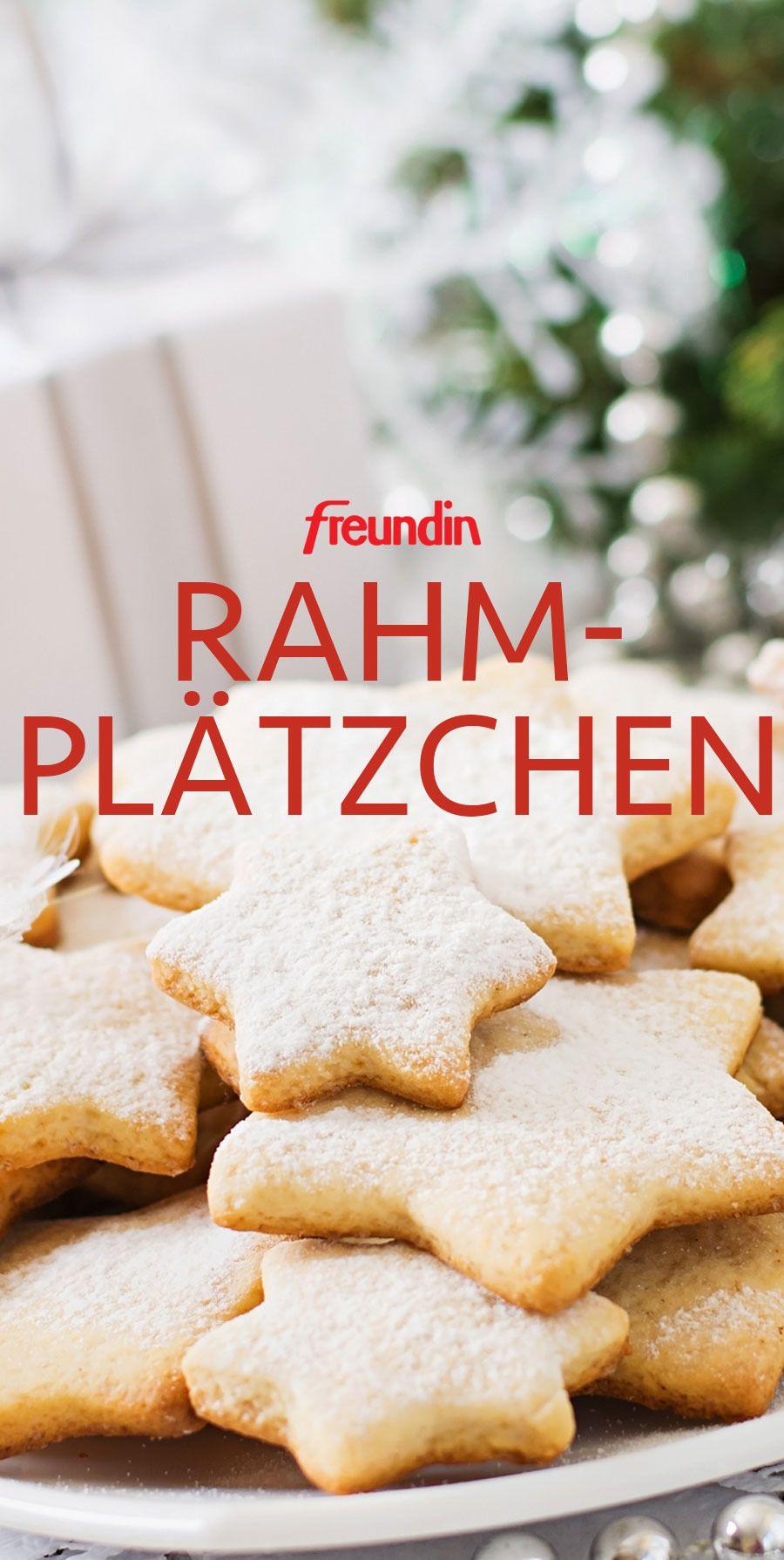 Christmas recipe: cream cookies with only 3 ingredients freundin.de
