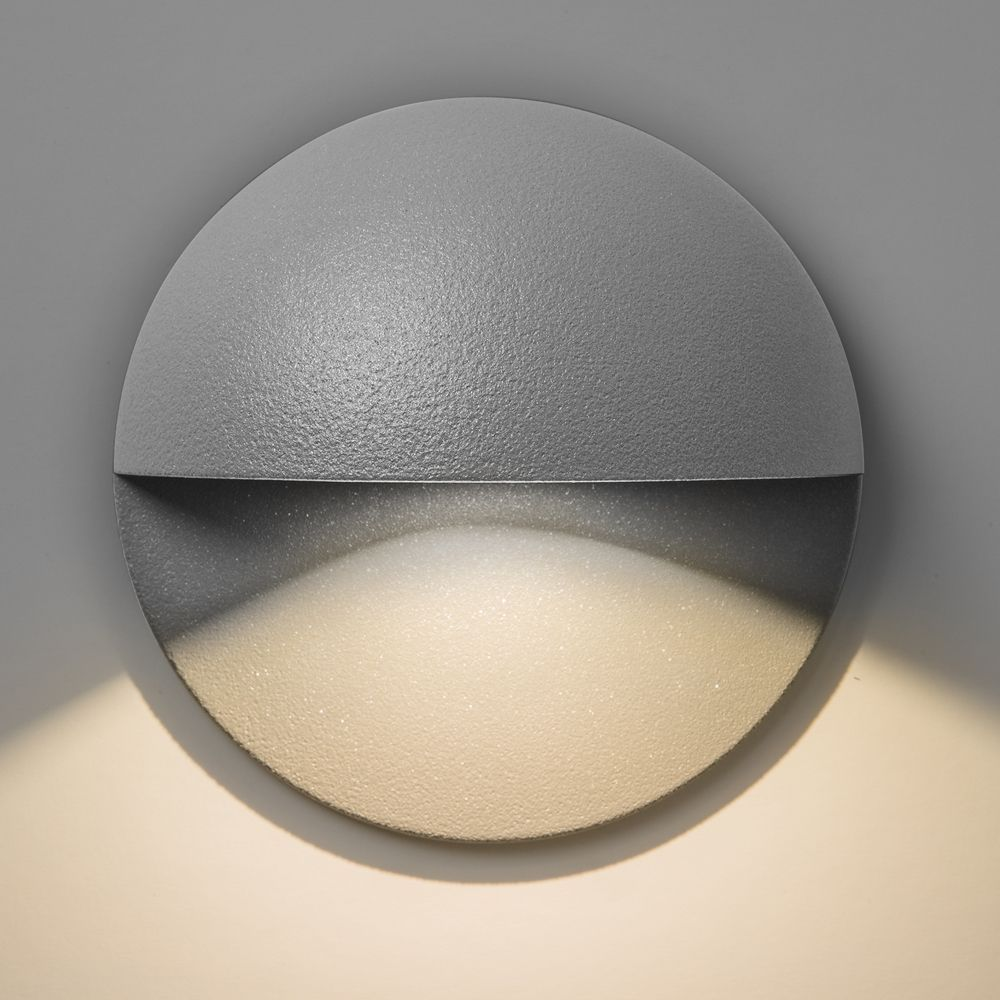 Astro Lighting 7265 Tivoli LED Silver IP65 Exterior Wall Light