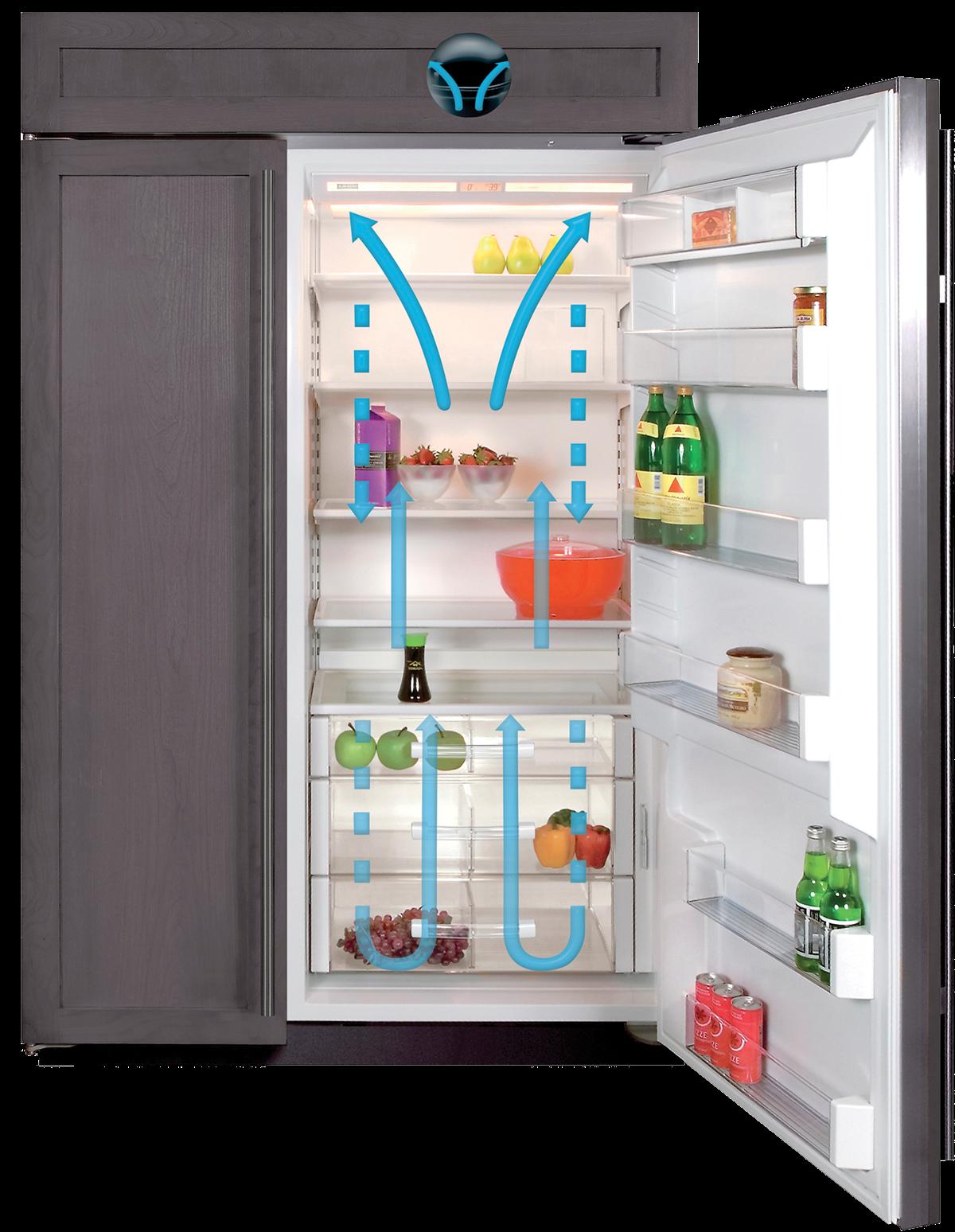 """SubZero 48"""" Classic SidebySide Refrigerator/Freezer"""