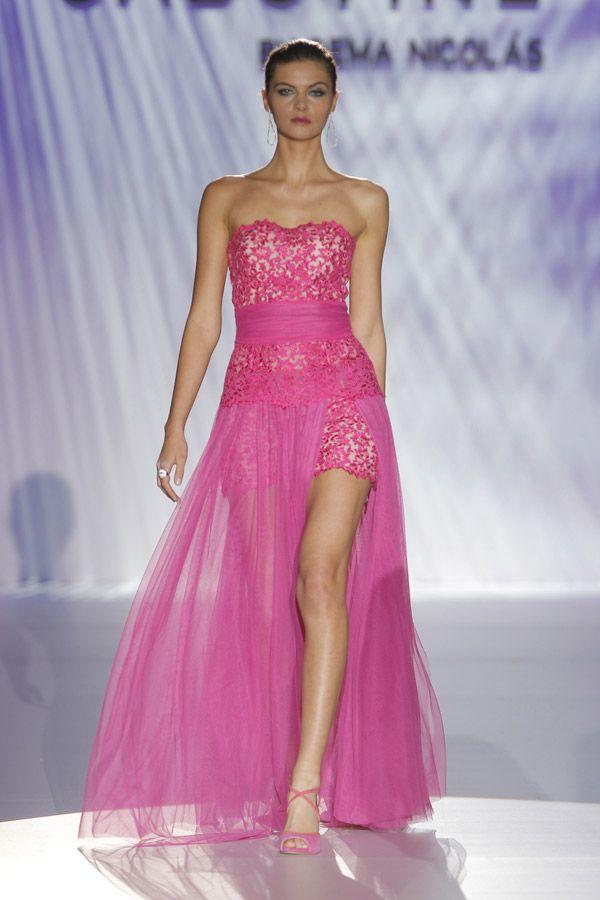 Vestidos de fiesta de Cabotine by Gema Nicolás 2015 #boda #invitadas ...