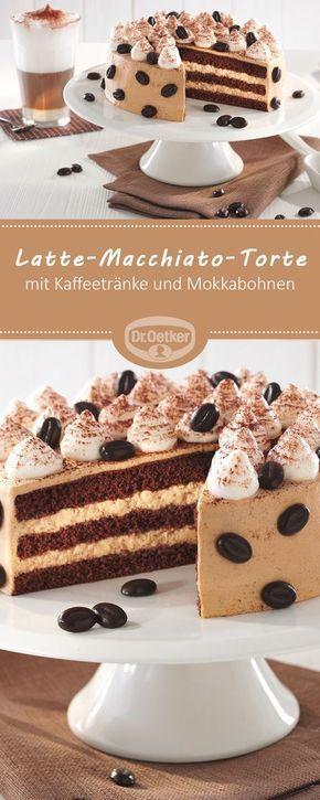 Kleine Latte Macchiato Torte Rezept Kuchen Und Torten Rezepte Sahnetorte Und Kuchen Und Torten