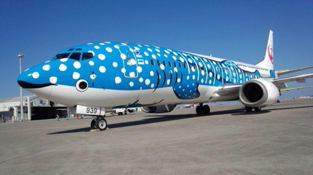 Japan Transocean Air Co.,Ltd Jinbei jet Rhincodon typus