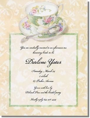 17 Best images about Tea Party invitation inspiration/templates on ...