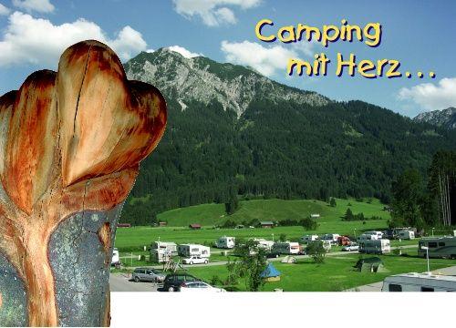 Camping In Oberstdorf Oberstdorf Campingprodukte Allgauer Alpen