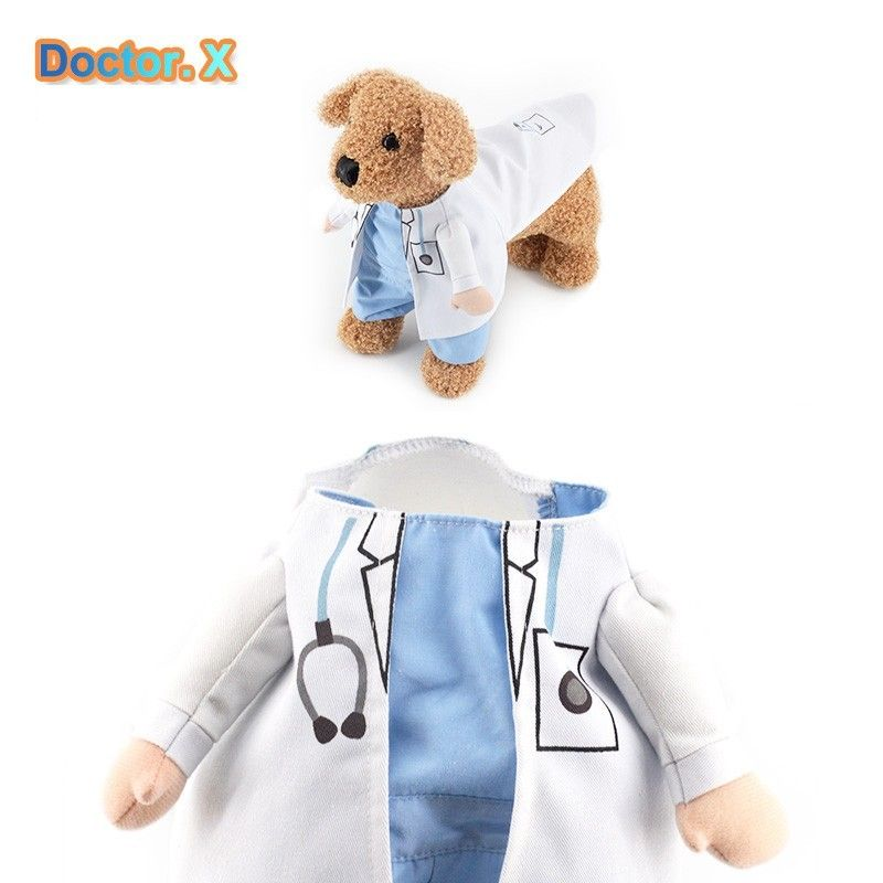 Cat/Dog Doctor Costume – EZPet.net