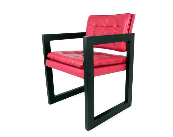 crafted in canada during the 1970s this mid century modern accent rh pinterest com
