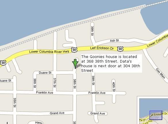 Goonies House 368 38th Street Astoria Or 97103 The