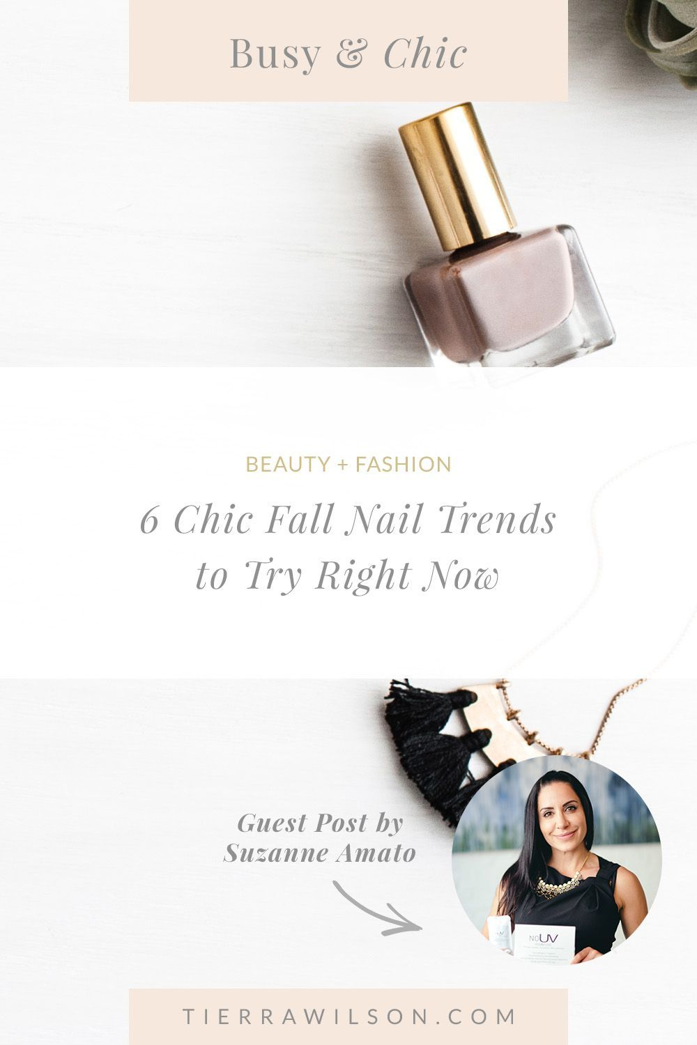 6 Chic Fall Nail Trends to Try Right Now - Tierra Wilson & Co#chic #fall #nail #tierra #trends #wilson
