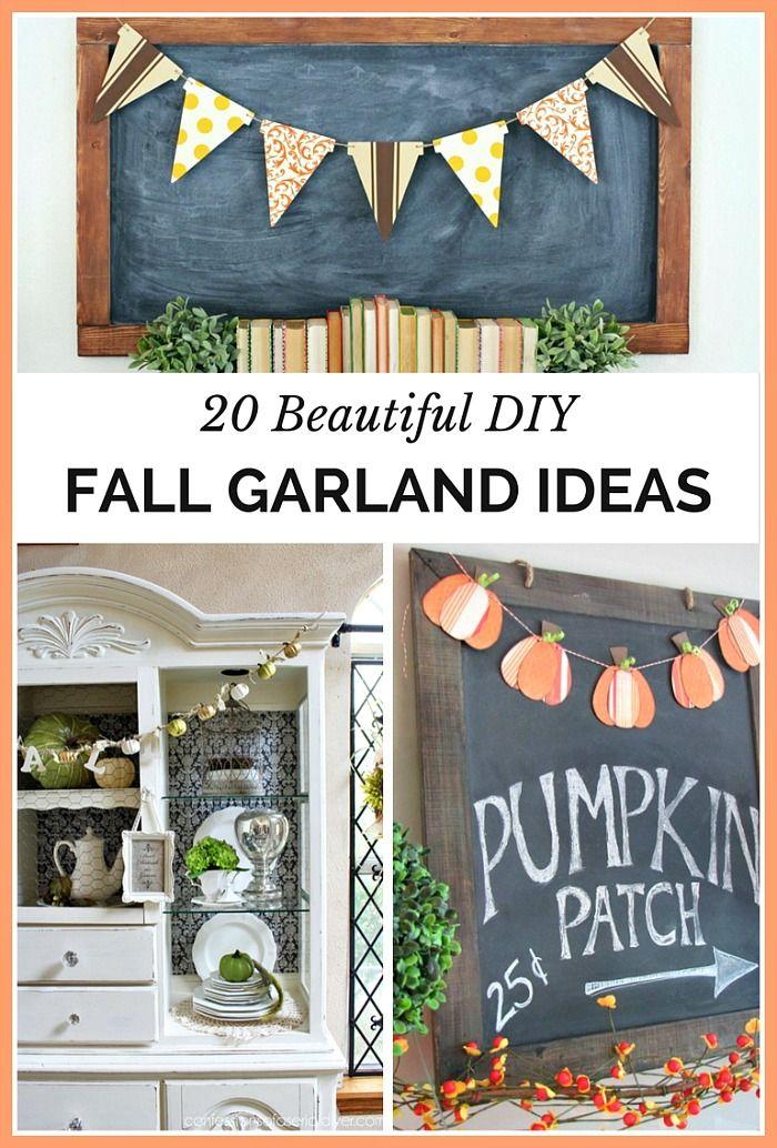 15+ Fall home decor diy ideas