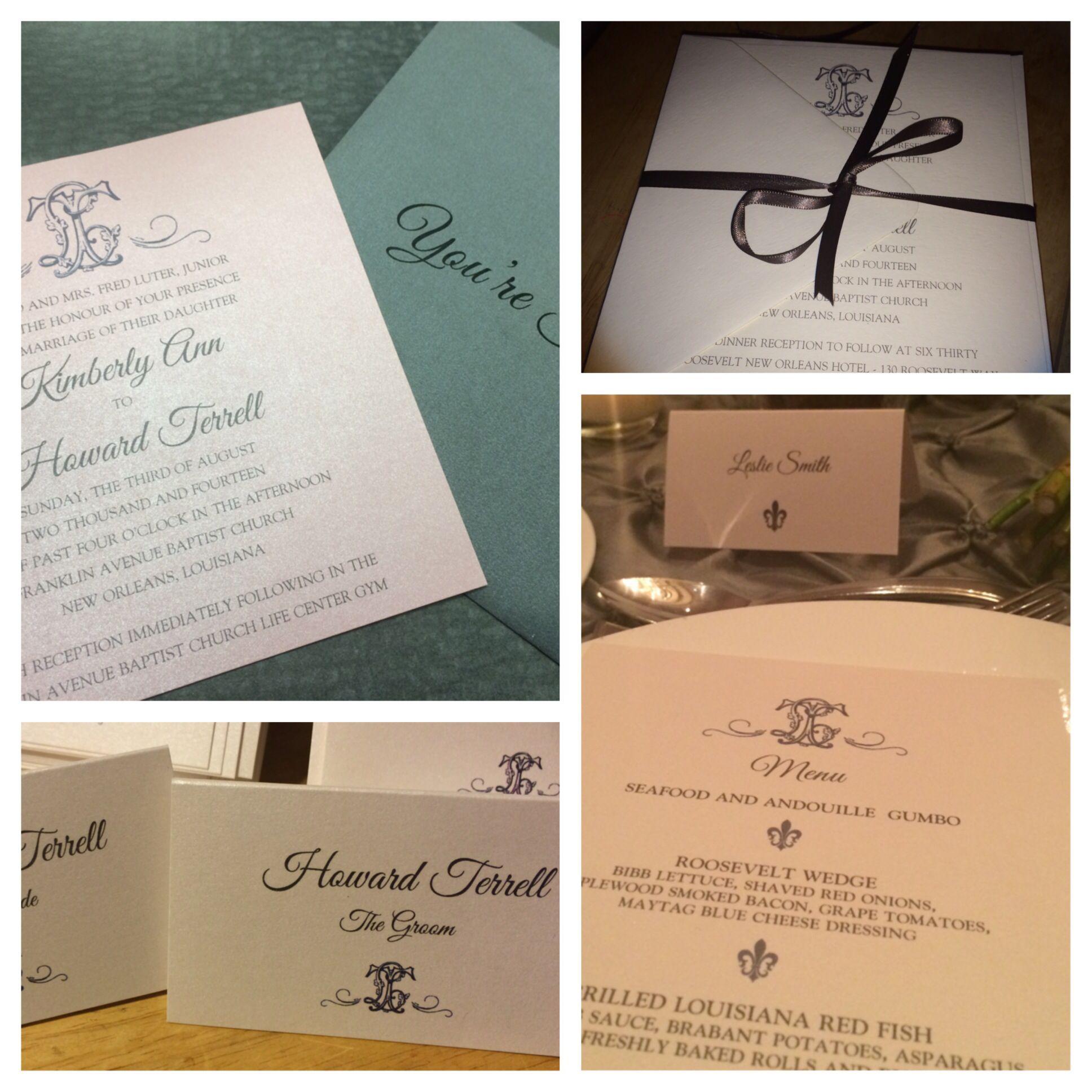 Such sweet Invites from Fourteen Forty Pretty