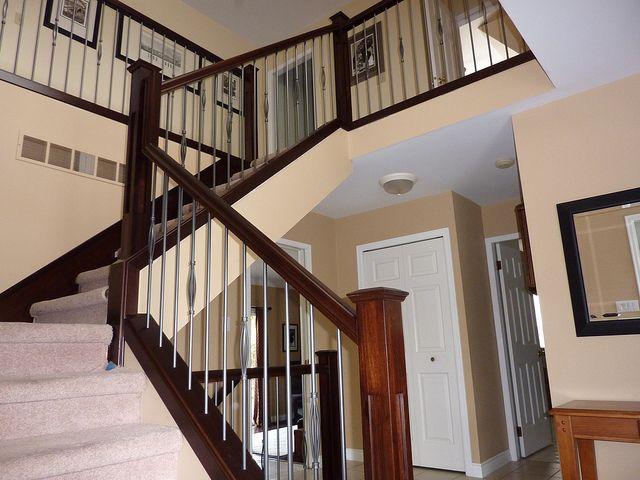 Best Shaker Style Stair Railings Modern Stairs Stair Railing 400 x 300