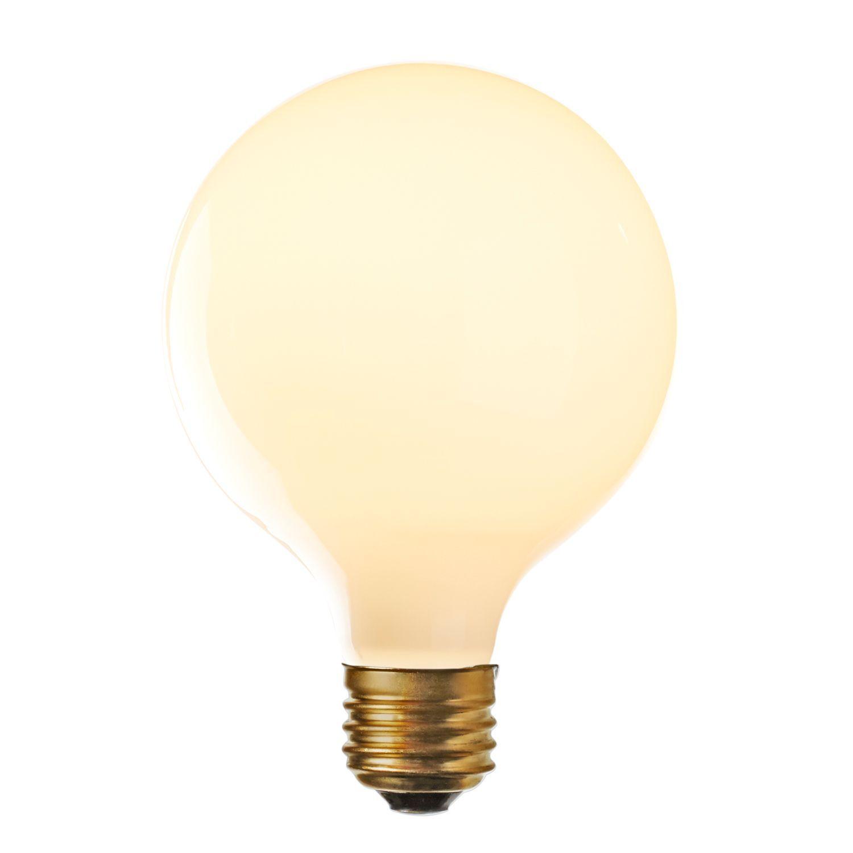 Carlton Frosted Led G40 Bulb E26 Led Porch Light Recessed Light Bulbs Light Bulb Lamp