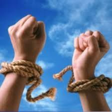 If you've never been tied up with something, you'll never appreciate the freedom it brings to be loosed!