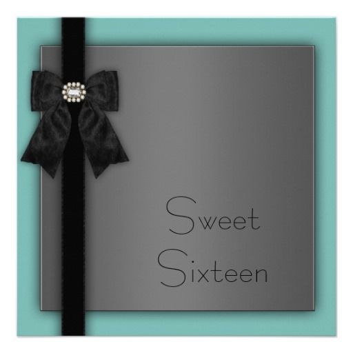 >>>Cheap Price Guarantee          	Black and Teal Blue Sweet 16 Birthday Party Invitation           	Black and Teal Blue Sweet 16 Birthday Party Invitation in each seller & make purchase online for cheap. Choose the best price and best promotion as you thing Secure Checkout you can trust Buy bes...Cleck Hot Deals >>> http://www.zazzle.com/black_and_teal_blue_sweet_16_birthday_party_invitation-161012948569393548?rf=238627982471231924&zbar=1&tc=terrest