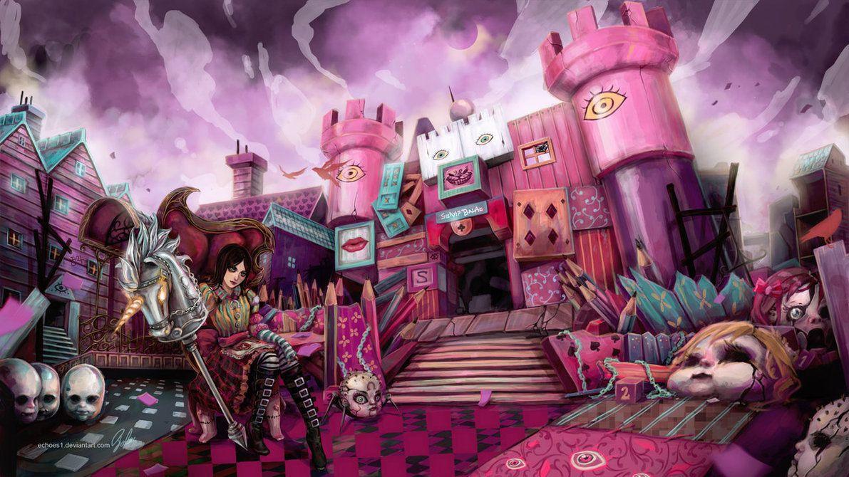 Alice Wallpaper By Sbalac On Deviantart Alice Madness Alice Madness Returns Dark Alice In Wonderland