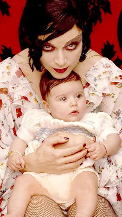 Madonna And Lola By Herb Ritts 1997 Madonna Madonna Albums