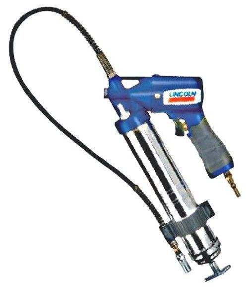Heavy Duty Grease Gun Lincoln Air Powered Greasing Hose Automatic Greaser Tool #Lincoln