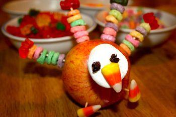 Apple Turkey Craft Idea Apple Turkey Craft Turkey Crafts Kids