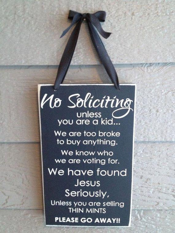no soliciting no soliciting sign no solicitation sign wood sign rh pinterest com
