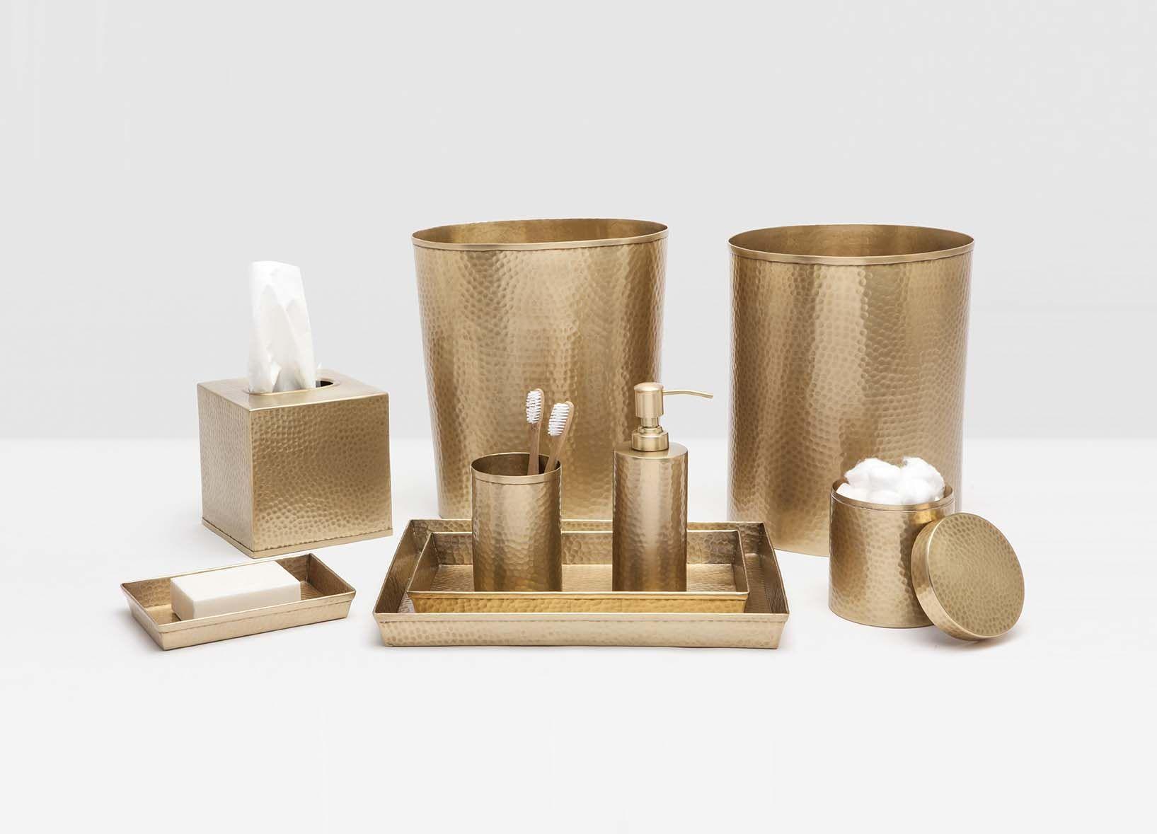 Verum Bath Collection In Antique Brass Brass Bathroom Accessories Bathroom Accessories Brass Bathroom