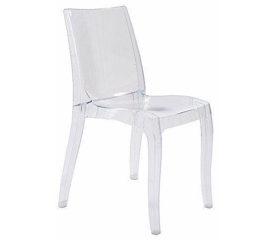 Chaise Cristal Transparent Chaise De Salle A Manger Chaise Transparente Fauteuil De Table
