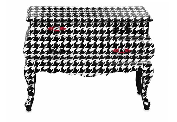Cassettiera Trip Trumeau By Seletti.Houndstooth Black And White Decor Decor Colorful Furniture