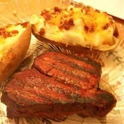 Barbecued Fillet Steaks with Shallot Butter