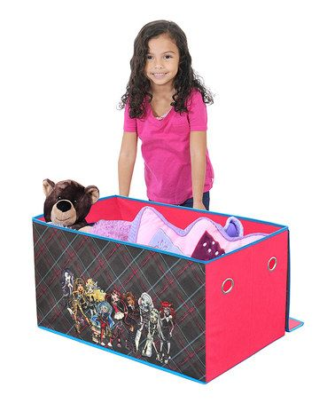 love this monster high collapsible storage trunk by monster high on rh pinterest de
