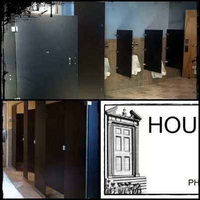 Va Medical Center Bldg 75 - Salem VA Stunning phenolic toilet partitions and urinal screens supplied and installed by House of Doors - Roanoke ... & Va Medical Center Bldg 75 - Salem VA Stunning phenolic toilet ...