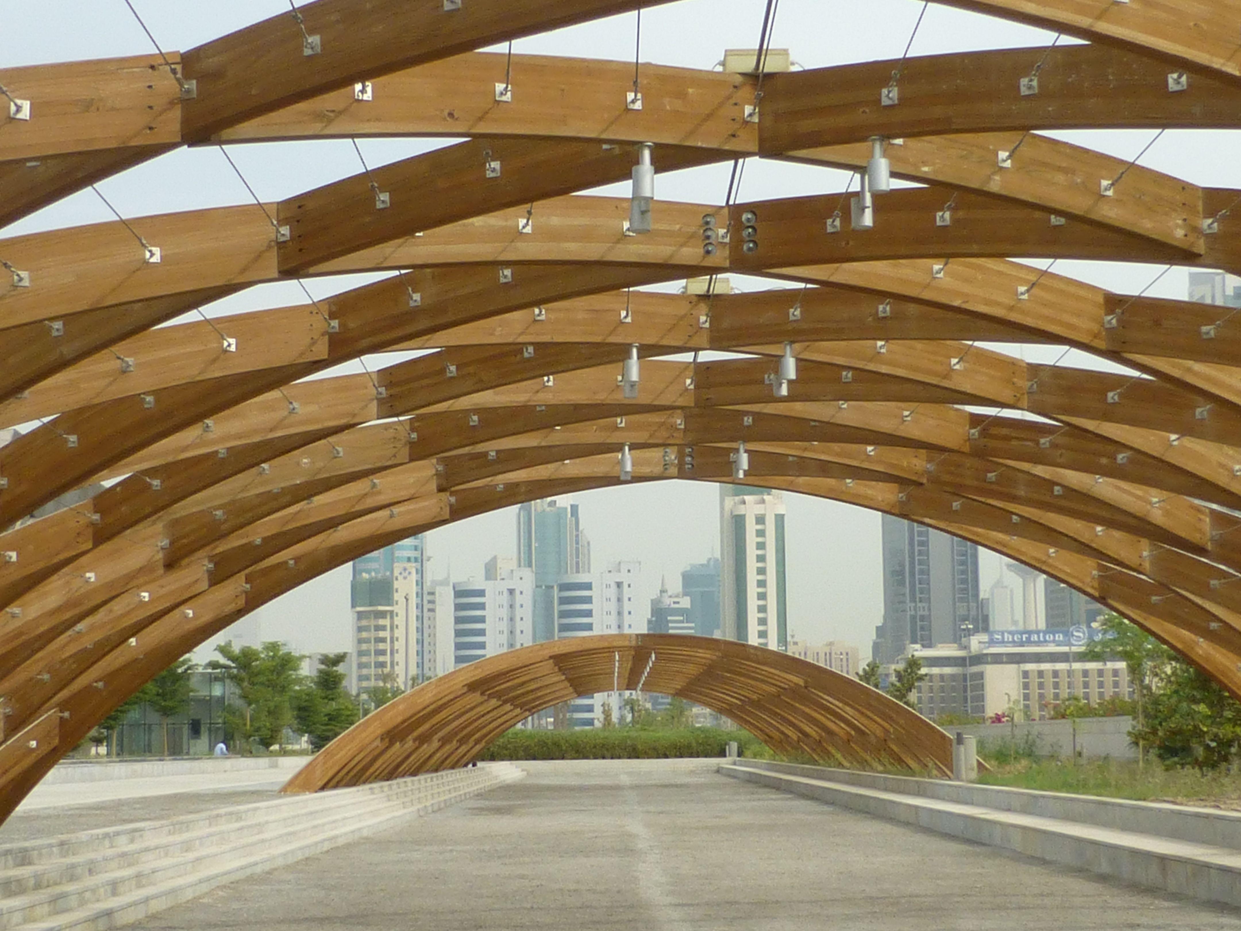 Kuwait Cultural Centre Entrance   Kuwait, Landscape, Entrance
