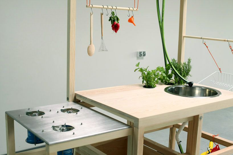 mobile hospitality' by chmara.rosinke portable kitchen and dining, Kuchen