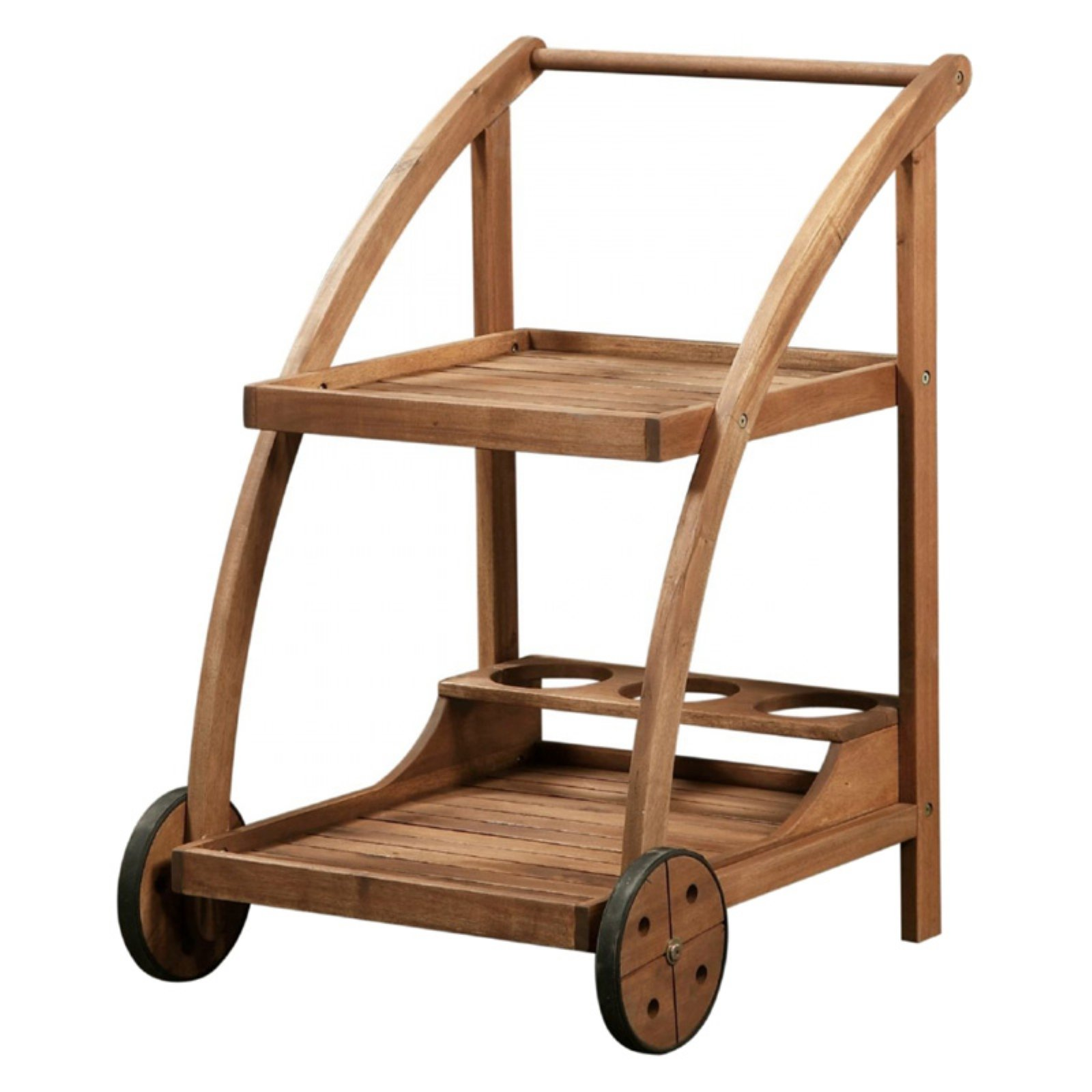 linon catalan teak serving trolley in 2019 products serving rh pinterest com