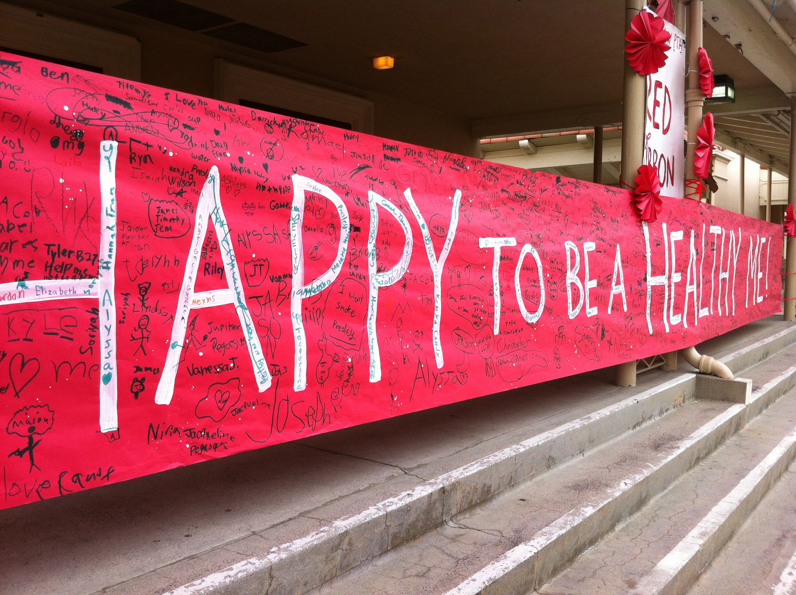 Red Ribbon Week Love This Have The Whole School Sign It