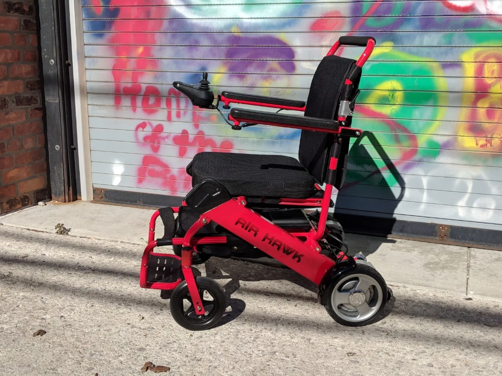 Air Hawk Worlds Lightest Power Wheelchair in 2020