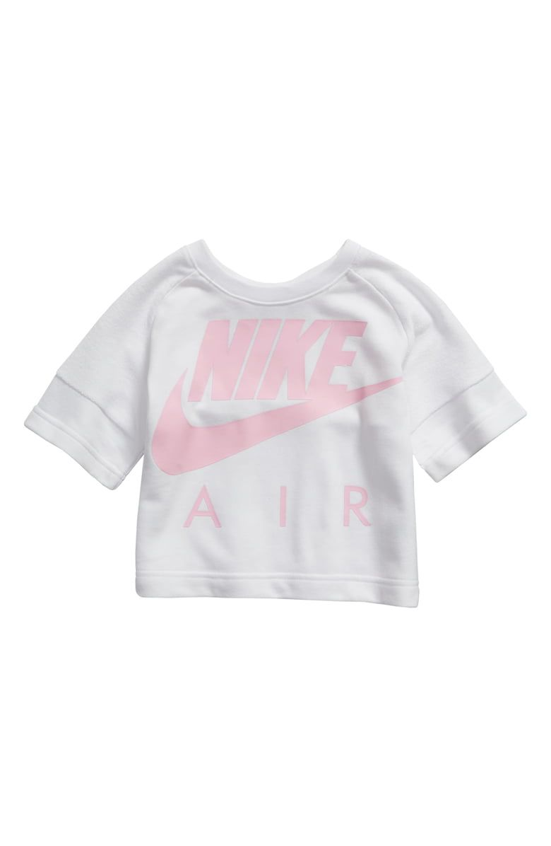 a5079e3c31 Free shipping and returns on Nike Air Crew Crop Tee (Toddler Girls ...