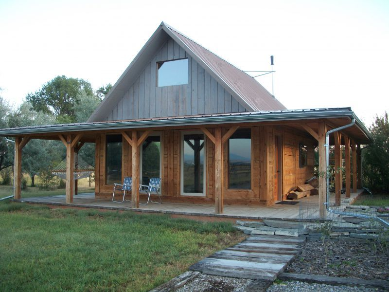 Modified Post and Beam 20 X 24 Cabin Hearth Home