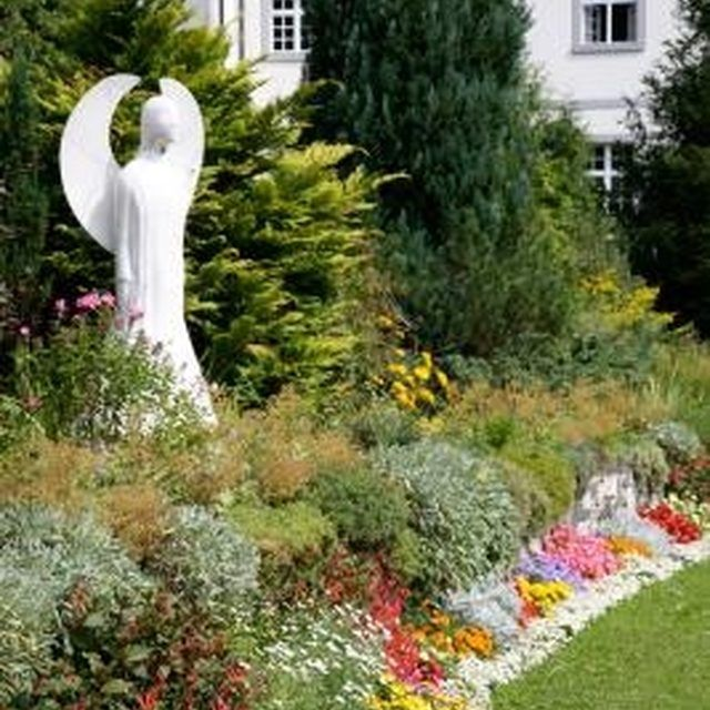 Prayer gardens can easily be incorporated into yards with a few simple steps.