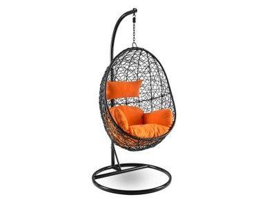 Fotel Wiszacy Lido Poduszki Kosz Hustawka T Rattan 6856636280 Oficjalne Archiwum Allegro Hanging Chair Decor Hanging