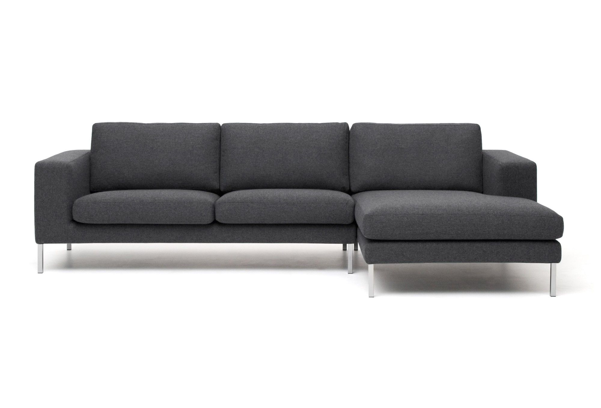 Discover Dark Grey Contemporary Corner Sofa From Biki Range With